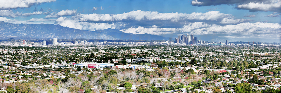 Los Angeles California Skyline GigaPan city Panorama (c)JohnPost
